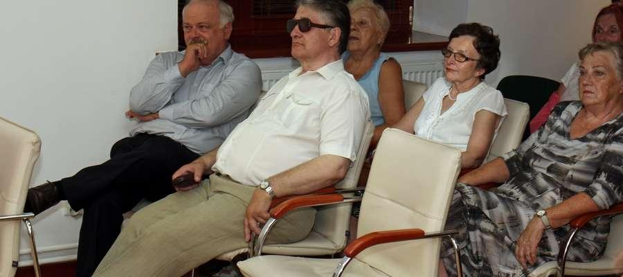 Na spotkanie przybył także zaproszony Krzysztof Hećman, burmistrz Kętrzyna.