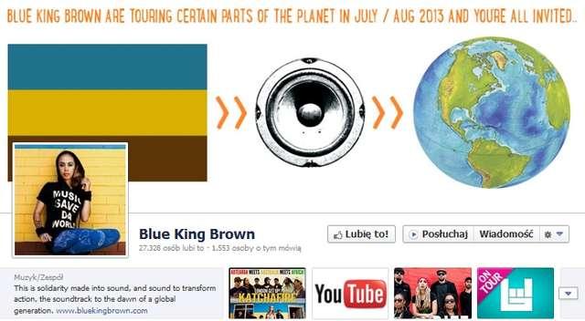 Reggae Ostróda Festiwal: Blue King Brown  - full image