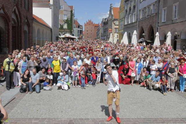 To druga taka fotografia w historii Olsztyna! Zobacz foto - full image