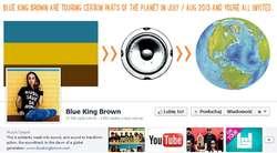 Reggae Ostróda Festiwal: Blue King Brown