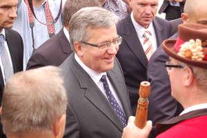 Prezydent Bronisław Komorowski odwiedzi Warmię i Mazury