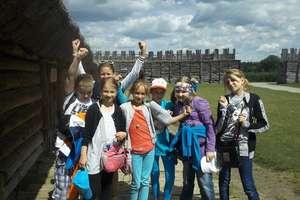Uczniowie ze Słobit na Szlaku Piastowskim