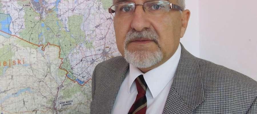 Maciej Rygielski, starosta powiatu iławskiego