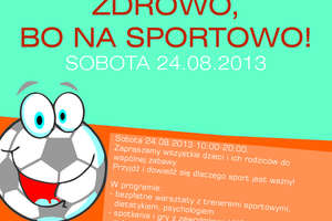 Przyjdź jutro do Galerii i przekonaj się, że sport to zdrowie!