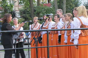 Rosjanie muzycznie pożegnali lato w Gołdapi