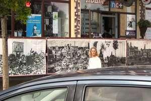 W centrum Nidzicy zawisły zdjęcia z czasów I wojny światowej