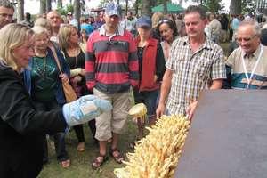 Turyści z całego świata przybyli do Żytkiejm na święto sękacza
