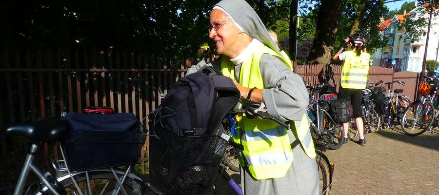 W poniedziałek w trasę wyruszyła z Elbląga po raz czwarty Rowerowa Pielgrzymka na Jasną Górę