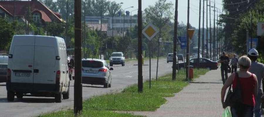 Jedną z ulic, na których przejazd będzie utrudniony, jest ul. Suwalska