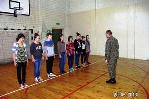 Pierwsze zajęcia z udziałem żołnierzy