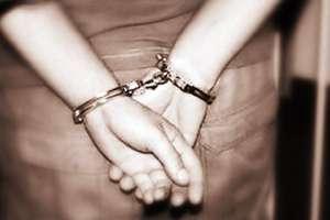 Złodziej w rękach Policji