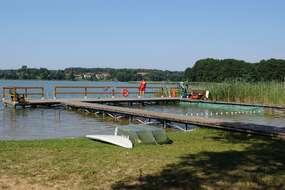 Strzeżone kąpielisko w Pelniku