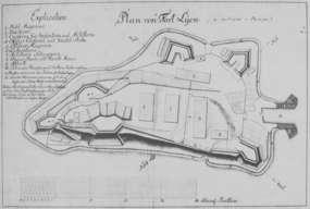 Fort Lyck na wyspie Czarci Ostrów