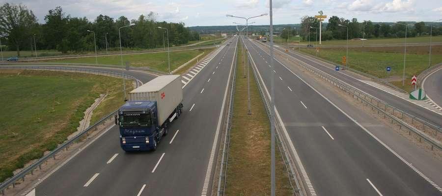 Droga S-7 pod Elblągiem
