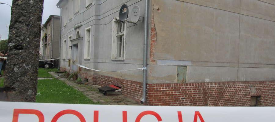 Do tragedii doszło w jednym z budynków przy ul. Marksa