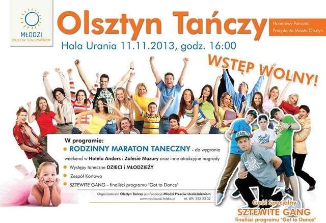 Olsztyn Tańczy w hali Urania - full image