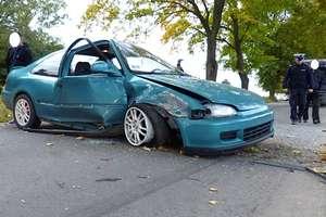 Honda rozbita, ale dochodzenie trwa…