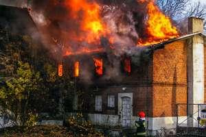 Pożar w Iławie. Strażacy uratowali zabytkowy młyn