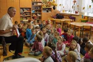 Dzieci poznały herb Działdowa