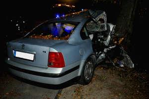 Prowadził auto na podwójnym gazie. Zginął pasażer
