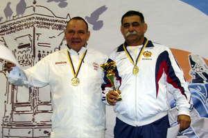 Kamiński wywalczył medale w mistrzostwach świata weteranów w zapasach