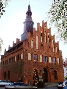 Gotycki ratusz z 1444 roku w Morągu