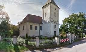 Barokowy kościół z 1754 roku w Strużynie
