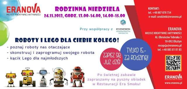 Roboty i Lego dla Ciebie kolego  - full image