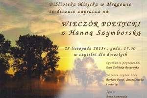 Poznaj poezję Hanny Szymborskiej
