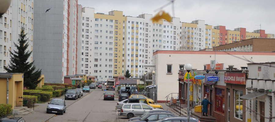 Ulica Rodziny Nalazków w Elblągu