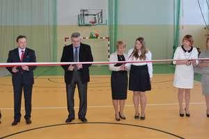 Uroczyste otwarcie sali gimnastycznej w Świętajnie