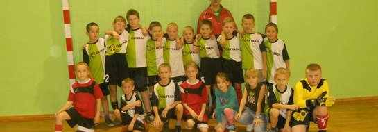 Młodziutka drużyna Orła Sypniewo