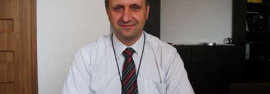 Dyrektor makowskiego szpitala Jerzy Wielgolewski