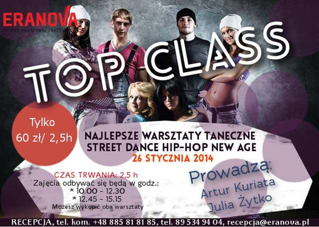 Najlepsze weekendowe warsztaty taneczne w Olsztynie! Nie przegap takiej okazji! - full image