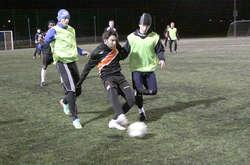 Trening piłkarzy Concordii Elbląg