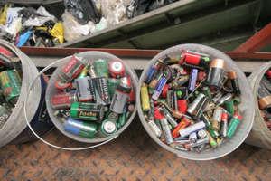 Tony zużytych baterii nie będą szkodzić środowisku