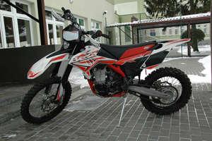 Skradziony w Szwecji motocykl odnalazł się w Bezledach