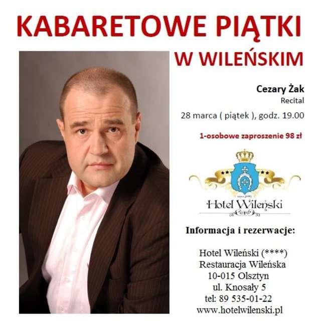 Recital Cezarego Żaka w Wileńskim - full image