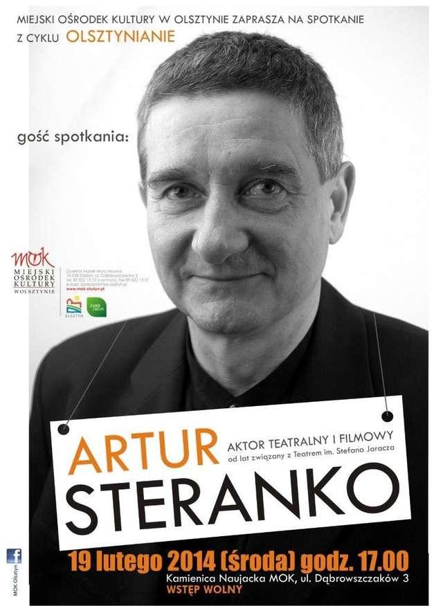 Spotkanie z Arturem Steranko  - full image