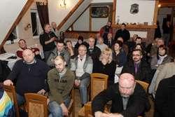 Mieszkańcy Próchnika, Zajazdu i Krasnego Lasu na spotkaniu z prezydentem Jerzym Wilkiem