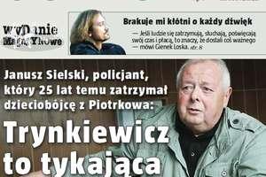 Rozmawiamy z policjantem, który zatrzymał Trynkiewicza
