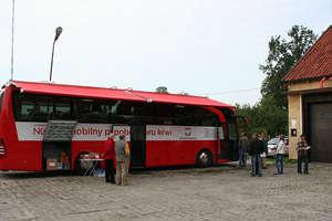 Oddaj krew w autobusie