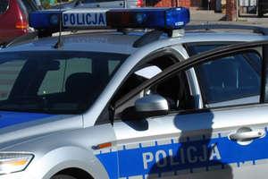 Pijany kierowca próbował rozjechać policjanta