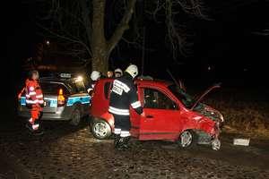 Pijany obywatel Ukrainy uderzył w drzewo