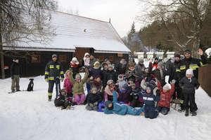 Ochotnicza Straż Pożarna z Krutyni aktywizowała dzieci w ferie