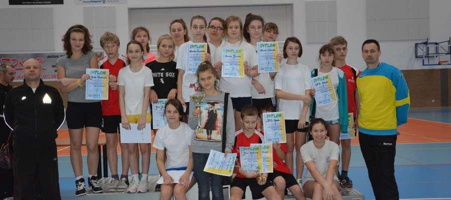 Reprezentacja Szkoły Podstawowej nr 3 w Olecku