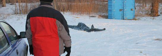 W Bisztynku znaleziono zwłoki mężczyzny. możliwe, że jest to 4 ofiara mrozu w naszym województwie.
