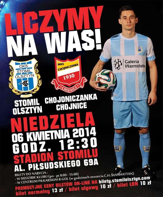 I liga w Olsztynie! Stomil Olsztyn - Chojniczanka Chojnice - full image