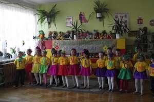 Przedszkolaki śpiewały na powitanie wiosny