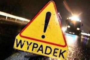 Wypadek pod Bartoszycami - 4 osoby ranne. NIKT NIE ZGINĄŁ!
